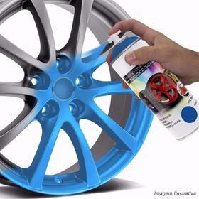Spray Envelopamento Líquido Azul Fluorescente 400ml Au428