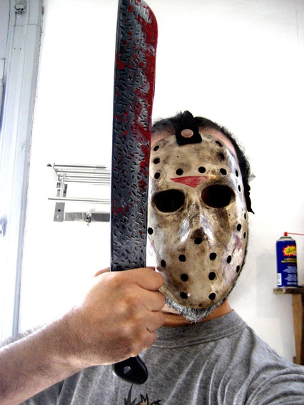Chucky,machete Michael Myers, Jason Halloween , Disfraz