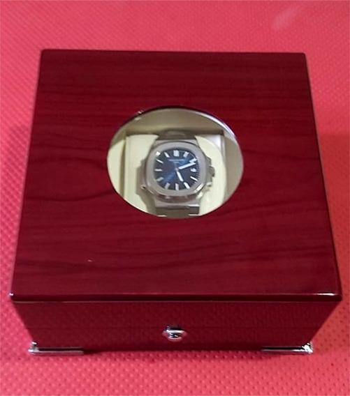 Relógio Patek Philippe Nautilus Aço Aut. Com Caixa Usado