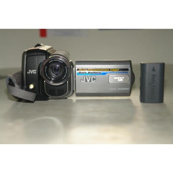 Filmadora Digital Jvc Minidv Gr-d850ub Gratis 4 Fitas Virgem