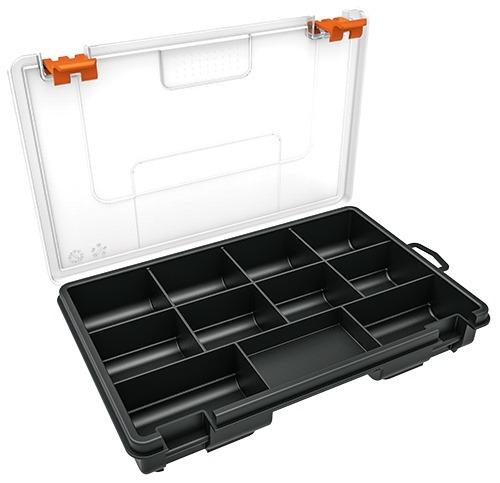 Caja Organizador Marca Truper 11 Compartimientos Set De 2