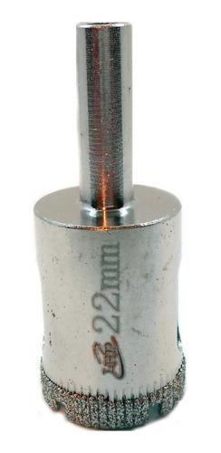 Imagen 1 de 6 de Mecha Diamantada 22mm Vidrio Cerámica Mármol Porcelanato