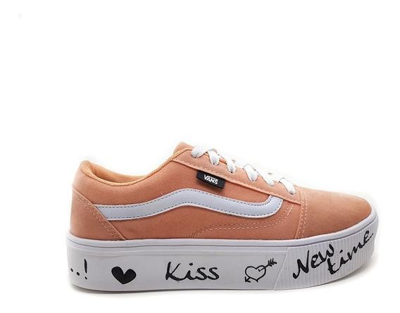 Tênis Skate Vans Kiss New Time Feminino + Frete Grátis