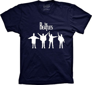 Camiseta Beatles Vários Tams. Plus Size G1 G2 G3 G4