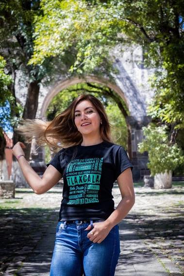Playera Tlaxcala Dama Y Caballero