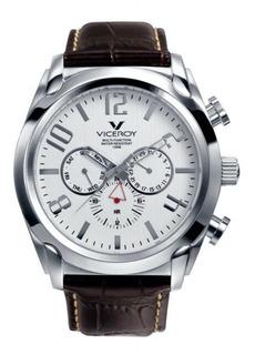 Reloj Hombre Viceroy 40347-05 Multifuncion Acero Wr 100 M