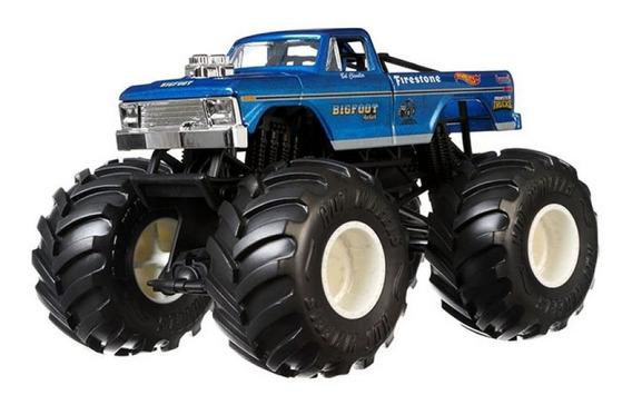 Veículo Hot Wheels - 1:24 - Monster Trucks - Bigfoot - Matte
