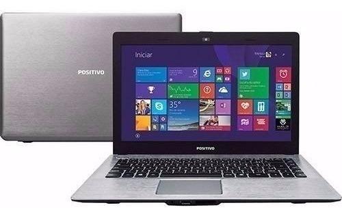 Notebook Positivo Xri Dual Core 4gb 500gb Windows Led 14