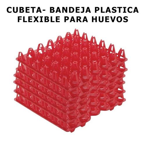 15 Cubeta Para Huevos Plastica Bandeja Flexible Envio Gratis