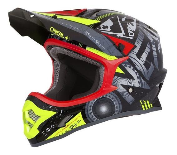 Capacete Motocross Oneal 3series Helium