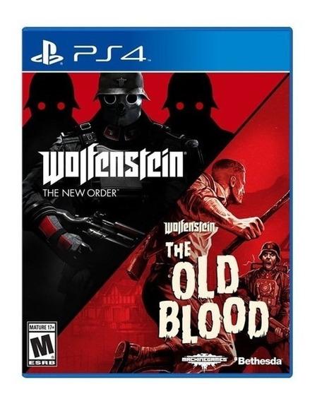 Wolfenstein The Two-pack (mídia Física)- Ps4 (novo)