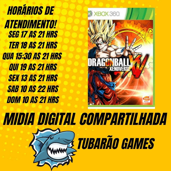 Dragon Ball Xenoverse Mídia Digital Xbox 360