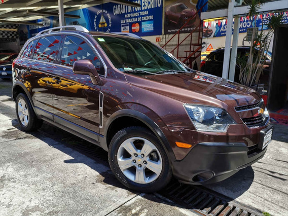 Chevrolet Captiva Sport 4cil Aut 4x2 2015 Brandy Metálico