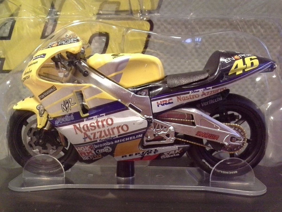 Miniatura Moto Valentino Rossi Honda Nsr500 2001 Escala 1:18