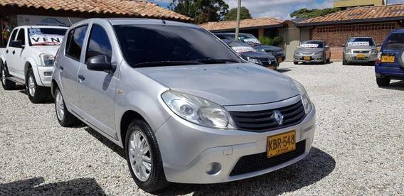 Renault Sandero Expression 2010 Plata Mt