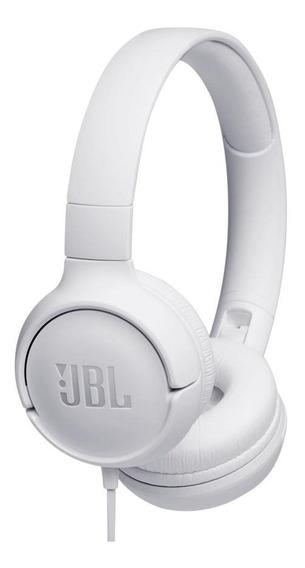 Fone De Ouvido Jbl T500 Branco