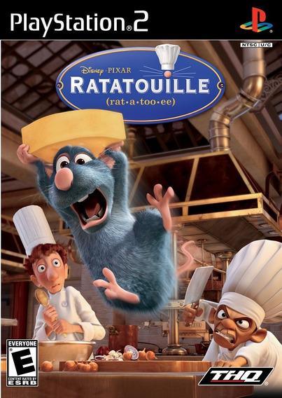 Ratatouille - Ps2 - Frete R$ 12,00