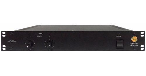 Potencia Amplificador P/ Supermecados Sansara Sl200 200w