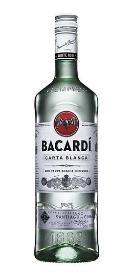 Ron Bacardi Carta Blanca De 980ml.