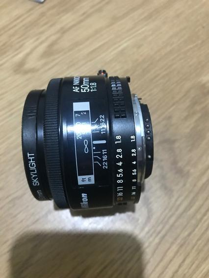 Lente Nikon- Af Nikkor 5.0mm 1:18