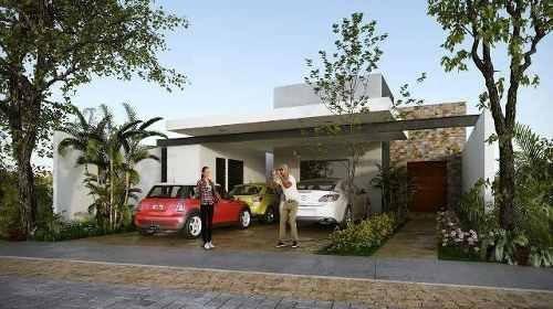 Casa De Una Planta En Privada Albarella Residencial Mod. A