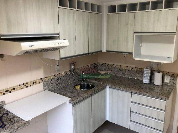 Apartamento Com 1 Dormitório À Venda, 42 M² Por R$ 165.000 - Conjunto Residencial Do Bosque - Mogi Das Cruzes/sp - Ap4608