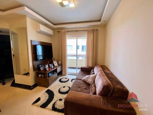 Imagem 1 de 19 de Apartamento Com 2 Dormitórios À Venda, 63 M² Por R$ 385.000,00 - Vila Ema - São José Dos Campos/sp - Ap3550