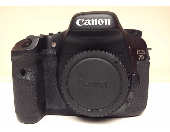Canon 7d Só 11.000 Cliques! Cartão 32g + Leitor + 12xs/juros