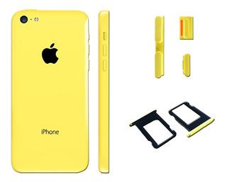 Carcasa iPhone 5c Original Incluye Bandeja Y Botones Bagc