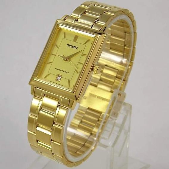 Relógio Orient Dourado 28mm Largura Funax001g0 100%original