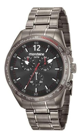 Relógio Mondaine Pulso Metal Masculino Adulto 83382gpmvss1