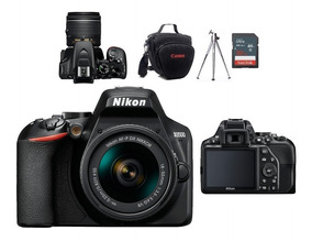 Nikon D3500 Kit 18-55mm Vr + Bolsa + Tripé + 32gb Classe 10