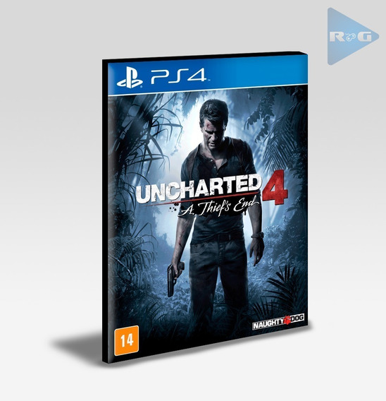 Uncharted 4 A Thiefs End Ps4 - Envio Agora