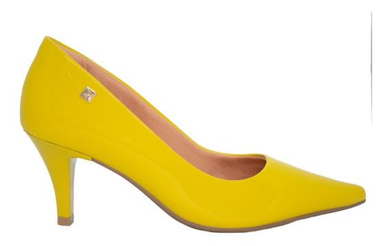 Zapatos Stilletos Mujer Charol Amarillo Taco Chupete