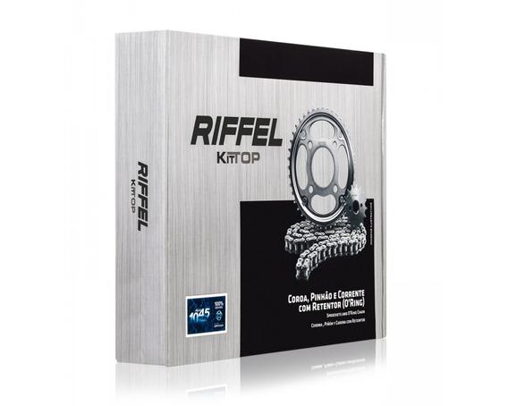 Kit Relação Riffel Com Retentor Titan 150 Fan Titan150 Cg150