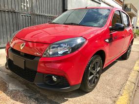 Renault Sandero 1.6 Gt Line 105cv Full Full Rojo 2013 Nuevo