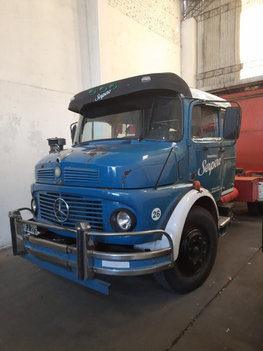Mercedes Benz  1114 Cabina Dormitorio Tractor Con Plato
