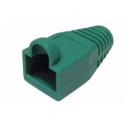 Bota Para Conector Rj-45 Color Verde 12 Unidades