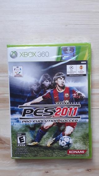 Jogo Pes 2011 Xbox 360 Novo