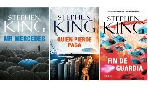 Trilogía Bill Hodges - Stephen King