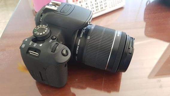 Camera Eos Rebel T5i Com Lente 18-55mm