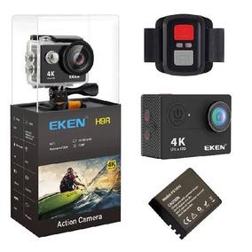 Camera Eken H9r 4k Original Wifi+ Cartão 64gb Sandisk Clas10