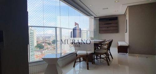 Apartamento Para Venda Em São Paulo, Mooca, 3 Dormitórios, 3 Suítes, 2 Banheiros, 1 Vaga - Moo108flo_1-1557999