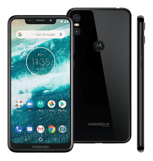 Motorola Moto One 64gb Tela 5.9 Hd+ 4gb Ram , Giroscopio