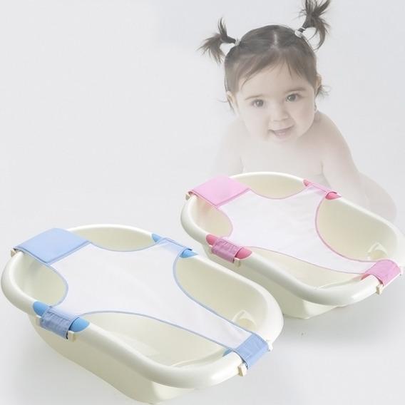 Suporte Banho Rede Segurança Recém Nascido Banheira Bebe