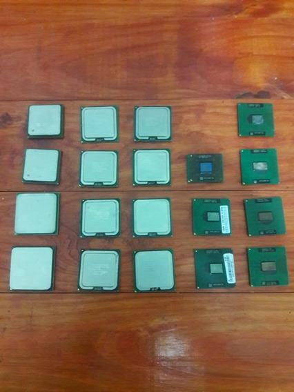 Lote Micro Procesador Intel Amd Pc Notebook Lote