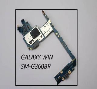 Placa Mãe Samsung Win Sm-g360bt - 100%ok Leia Descricoe
