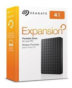 Hd Externo Portátil Seagate Expansion 4000gb - 4tb Usb 3.0