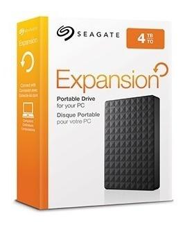 Hd Externo Portátil Seagate Expansion 4000gb - 4tb Usb 3.0