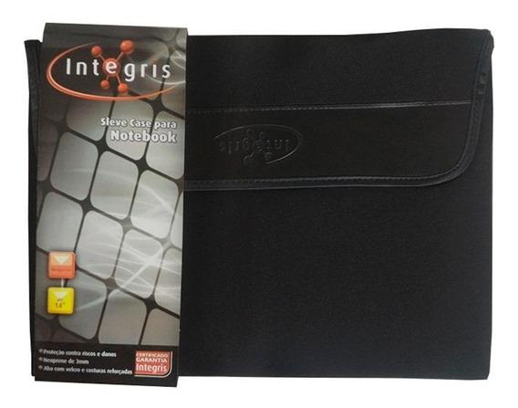 Capa Para Notebook Integris Sleeve Case Preta 14